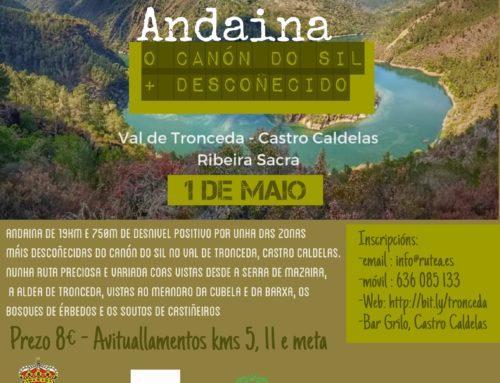 ANDAINA «O CANÓN DO SIL + DESCOÑECIDO»