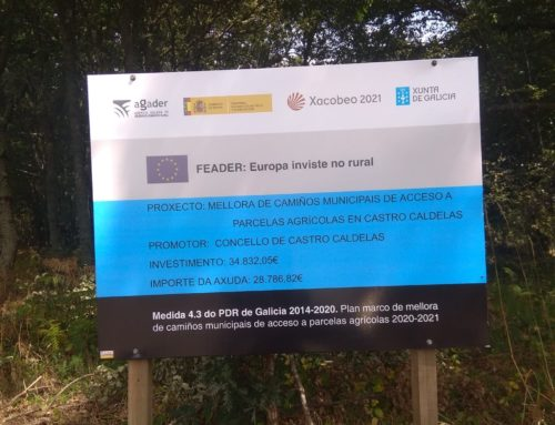 OBRA DE MELLORA DE CAMIÑOS MUNICIPAIS DE ACCESO A PARCELAS AGRÍCOLAS EN CASTRO CALDELAS